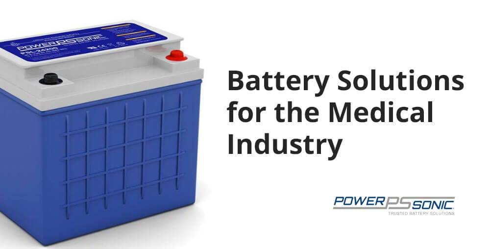 batteries for medical industry
